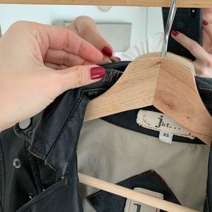 Anthropologie Jackets & Coats - Faux leather jacket from Anthropologie